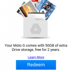 Moto G review google drive free 25gbs ycp