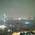 blackberry passport photo sample lowlight victoria harbour hong kong